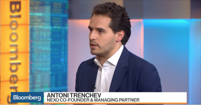 Nexo's Managing Partner Antoni Trenchev on Bloomberg – Nexo